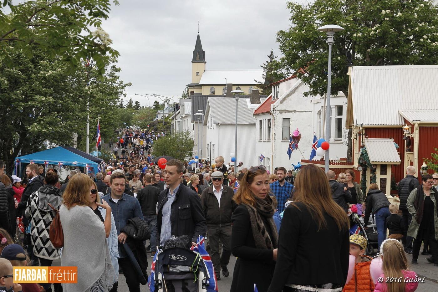 Hafnarfjörður - Austurgata. Ljósmynd: Guðni Gíslason