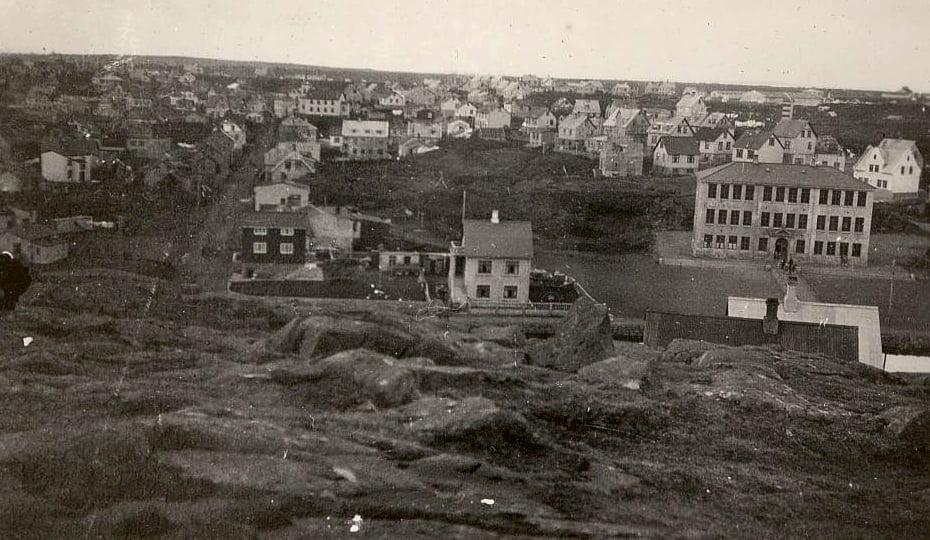 Hafnarfjörður um 1930