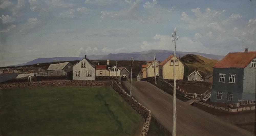 Suðurgatan eftir Gísla Jónsson